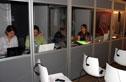 Interprètes de conférence en cabines mobiles