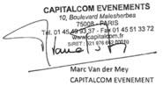 Tampon de Capitalcom Evènements