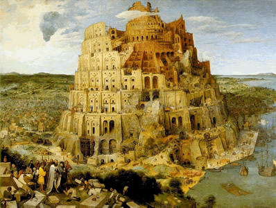 """The Tower of Babel"" by Bruegel the Elder"