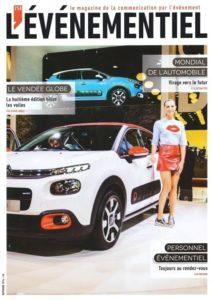 Couverture - Le magazine L'Evénementiel - 254